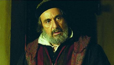 Al Pacino como Shylock