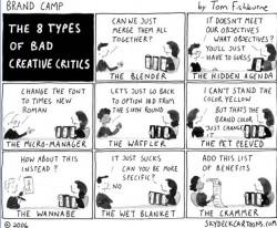 8 tipos de criticos