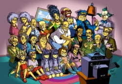 Los Simpsons Anime