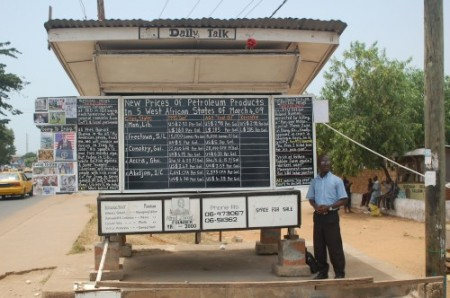 Blogger liberiano analogo
